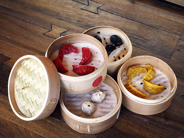 Selección Dim Sum 4 variedades Wakka Virginia Nunes 01 - Restaurante Wakka: ricos nigiris y dim sum en un universo asiático muy chic