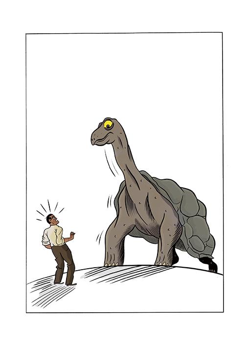 VeranosDeLaVilla2021 AytoMadrid 20210624 114635 fermn sols. buuel en el laberinto de las tortugas - Dos exposiciones de cómics se presentan en el Paseo Recoletos y CentroCentro