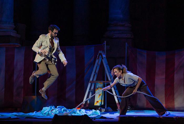 """anfitrion de moliere teatro Madrid2 - Toni Acosta y Pepón Nieto protagonizan la obra de teatro de Moliére """"Anfitrión"""", en el Teatro La Latina"""