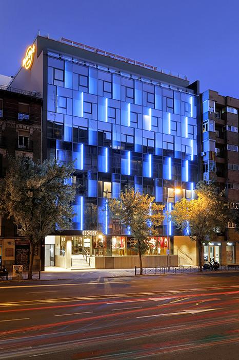 hard rock Madrid - Hard Rock olvida sus hamburguesas y vuelve a Madrid como hotel y nuevo restaurante