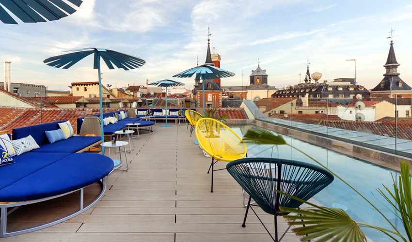 ¡Rooftops con menú veraniego y buena cóctelería!