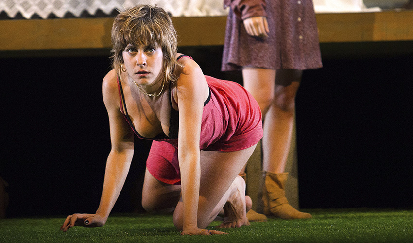 María León es Yerma en los Teatros del Canal