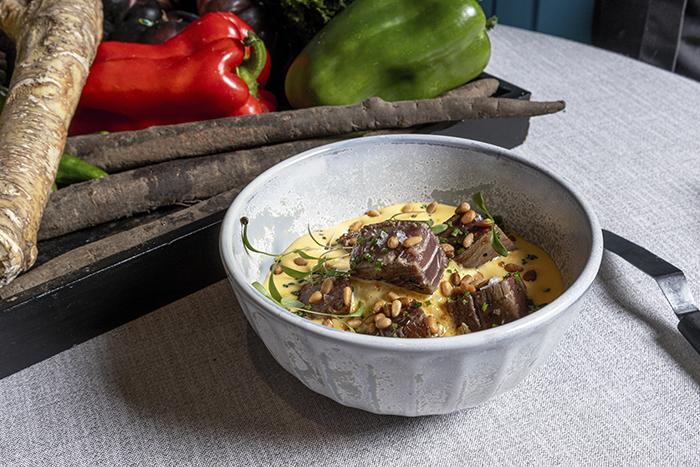 Don Dimas. Solomillo de atún de Almadraba 1 - Restaurante Don Dimas, cocina de afecto, materia prima y sabor