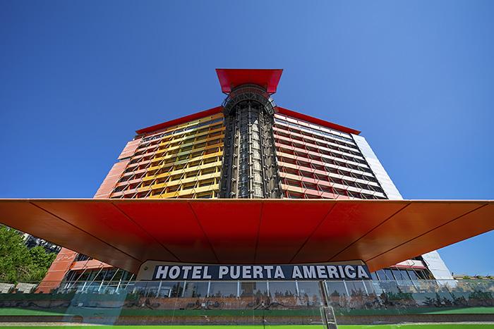 Hotel Puerta America Foto de David Spence - Open House Madrid: jornada de puertas abiertas de la arquitectura madrileña