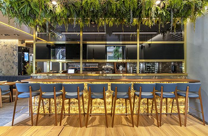 Lagasca 19. Barra - Restaurante Lagasca 19: creatividad y producto