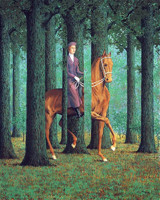 Magritte La firma en blanco 0 - El Thyssen presenta una retrospectiva del pintor surrealista Magritte