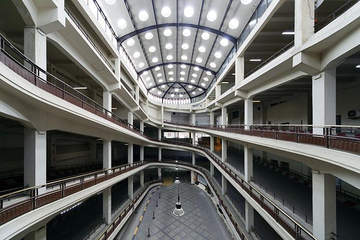 Parque Móvil del Estado Arroyo Foto de Ximo Michavila 5 - Open House Madrid: jornada de puertas abiertas de la arquitectura madrileña