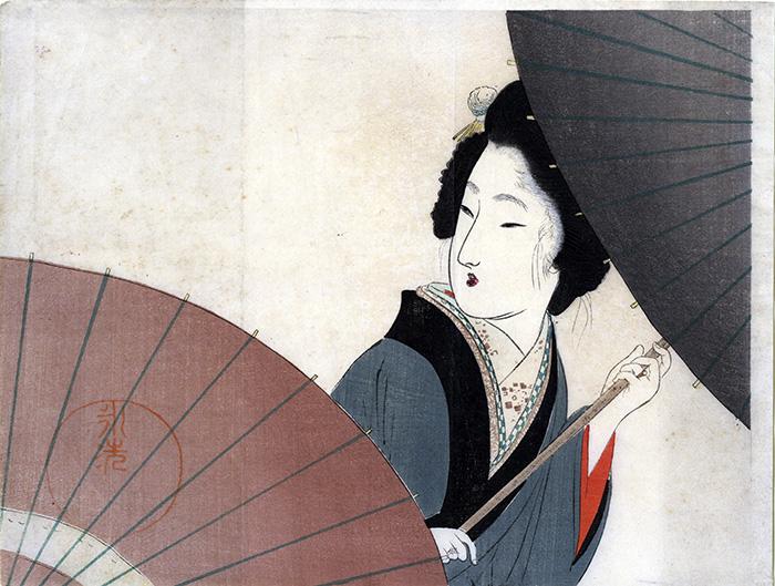 Tomioka Eisen 1864 1905 Lluvia en el quinto mes - La mayor colección privada de arte japonés del mundo se expone en CentroCentro