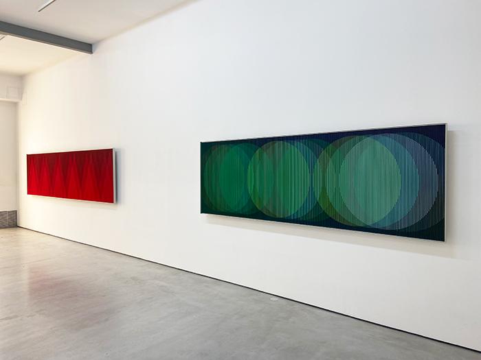 """Vista de la exposición Galería Cayón Madrid 2021 - Las galerías de Madrid celebran su fiesta de """"Apertura"""" con 52 exposiciones"""