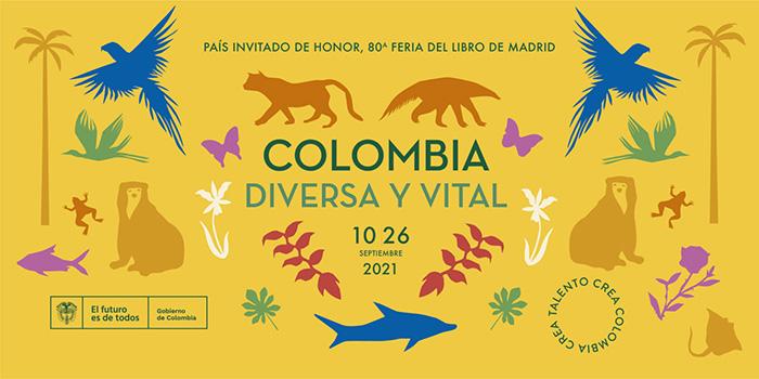 colombia pais invitado 80 feria libro madrid 1 1536x767 1 - Madrid se reencuentra con la Feria del Libro