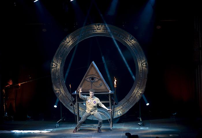 """el mago Yunke 001 - El mago Yunke: """"Con ocho años me hicieron un efecto de magia y pensé que el mago tenía poderes"""""""