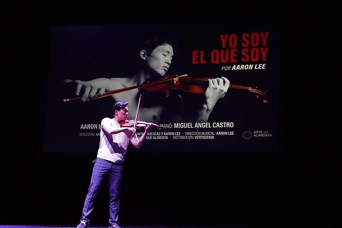 teatro Pavón Aaron Lee violinista - El Teatro Pavón abre de nuevo programando flamenco, jazz y musicales