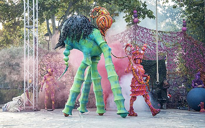 Les Voluminaires ALE HOP VALLECAS OCT VK 201653 - Madrid celebra el día de la Hispanidad con un gran programa de actividades socio-culturales
