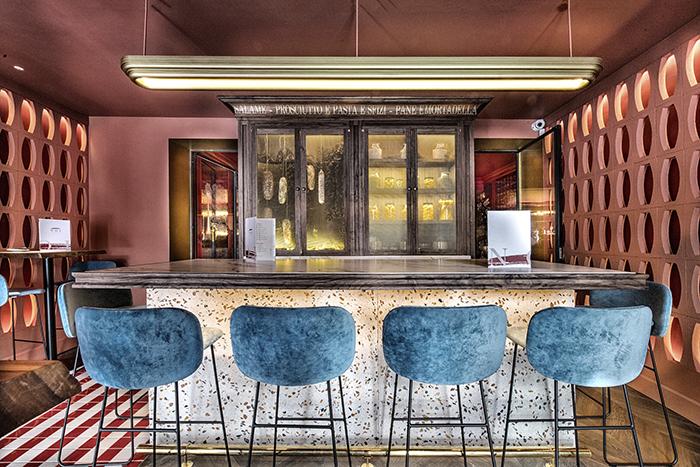 NOI 09 Sala Terracota - NOI, el restaurante italiano que acapara todos los sinónimos de la palabra delicioso