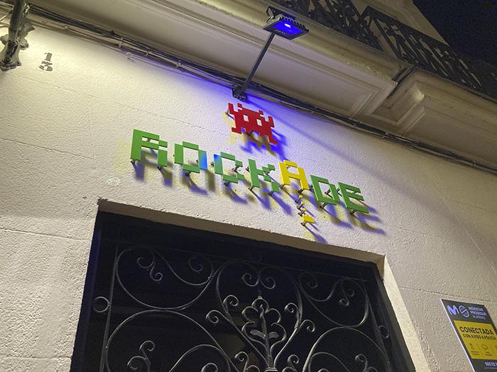 """bar RockADE Madrid 001 - """"Back to the future"""" en el nuevo bar RockADE de La Latina"""