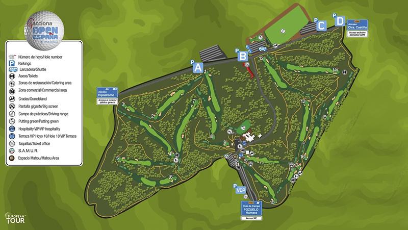 campo de golf villa de Madrid Acciona Open España - El español Rafael Cabrera-Bello gana el Acciona Open de España