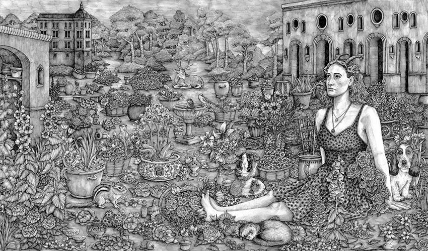 La artista británica Olivia Kemp inaugura la nueva galería F&deO en el Barrio de Salamanca